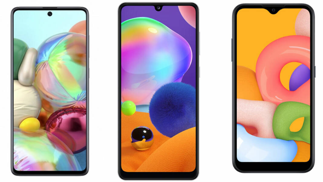 Samsung Galaxy A71 A31 A01