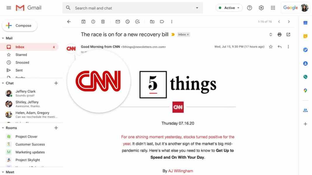 Gmail logo verificado