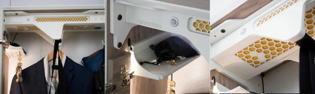 Ozonizer mueble elimina virus