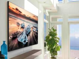 Samsung presentó una TV 8K de 75'' en Argentina