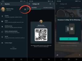 Cómo agregar nuevos contactos en WhatsApp mediante código QR