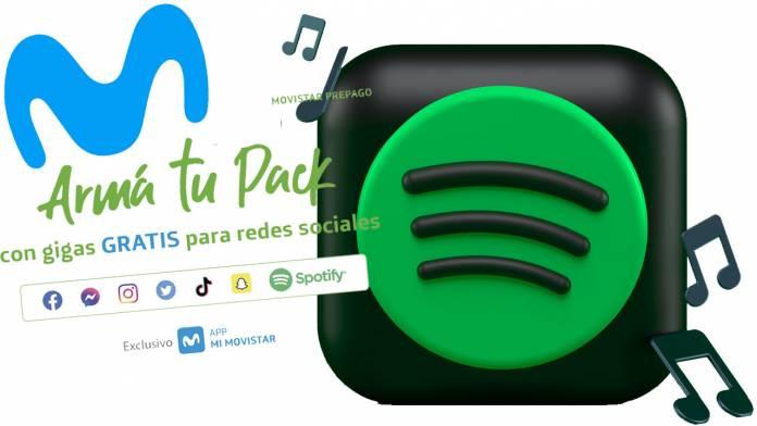 Spotify gratis Movistar
