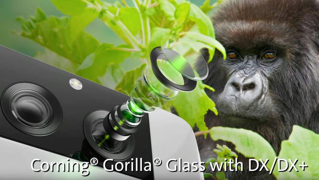 Gorilla Glass cámara celular