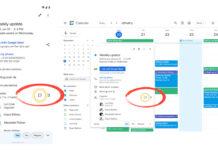 Chat Calendario Google
